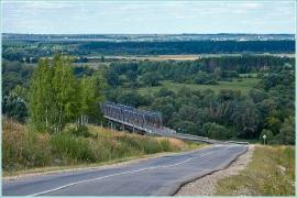 Мост через реку Пьяну. Нижегородская область